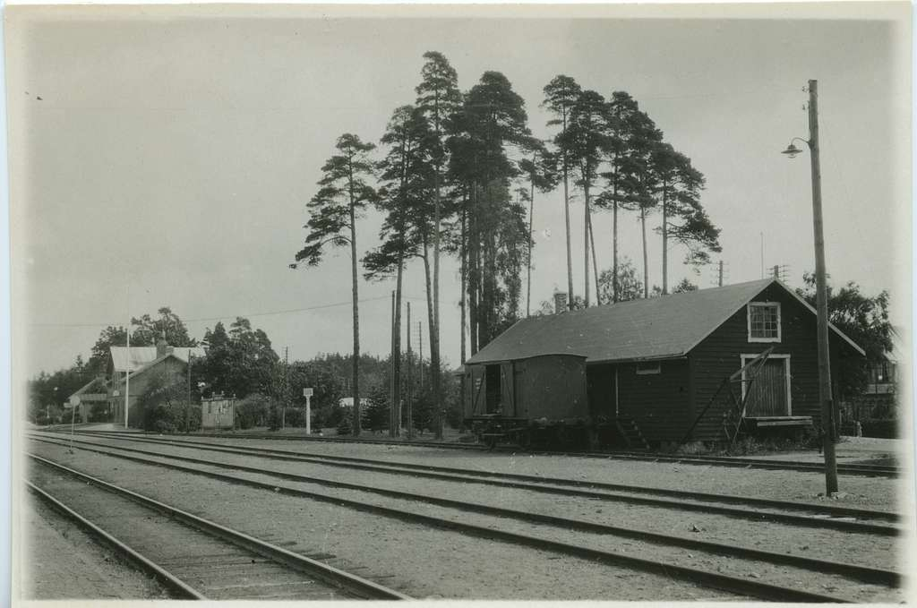 Solberga Station 1929-08-06.