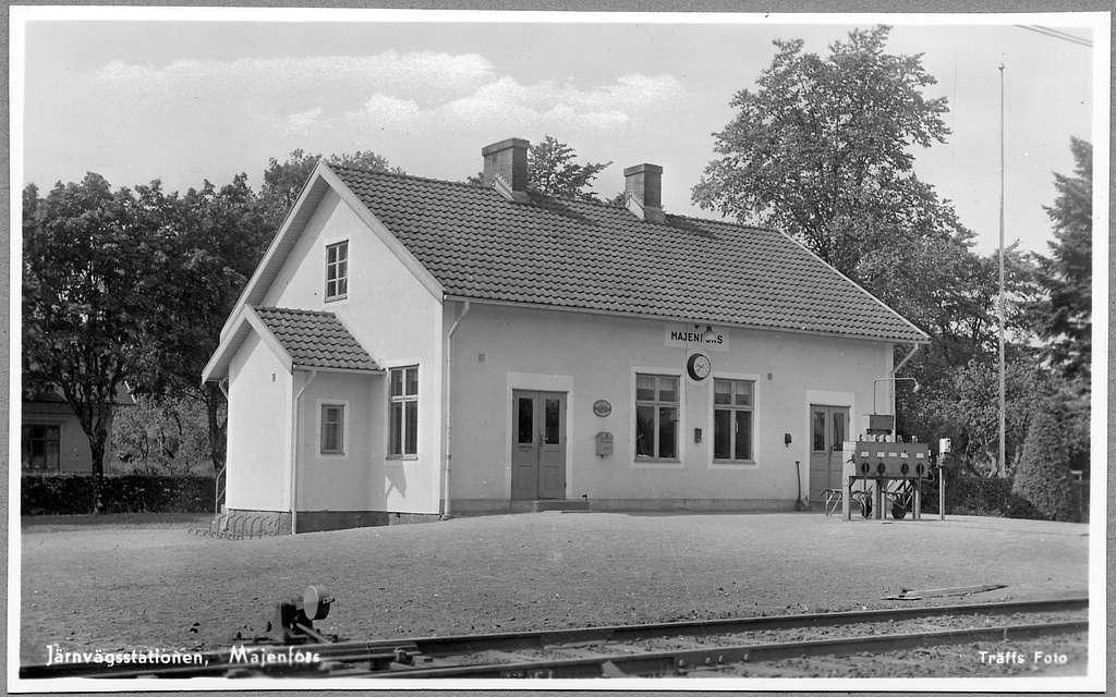 Majenfors station.