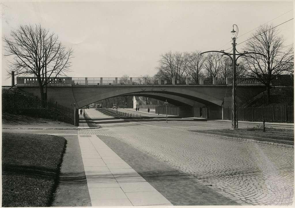 Viadukt över Lundavägen.