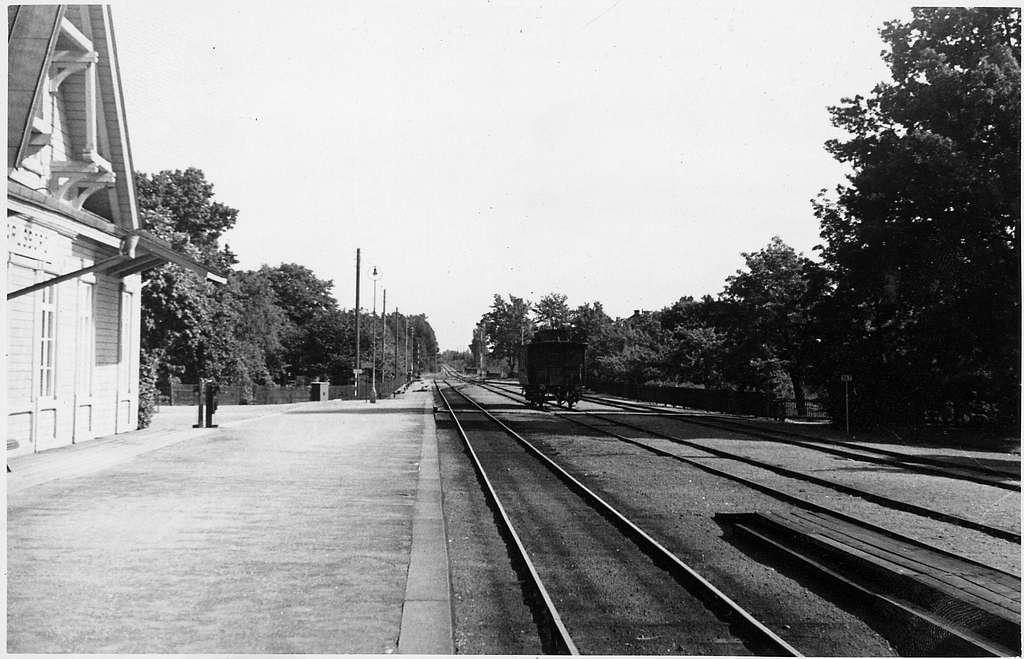 Karlsborg station.