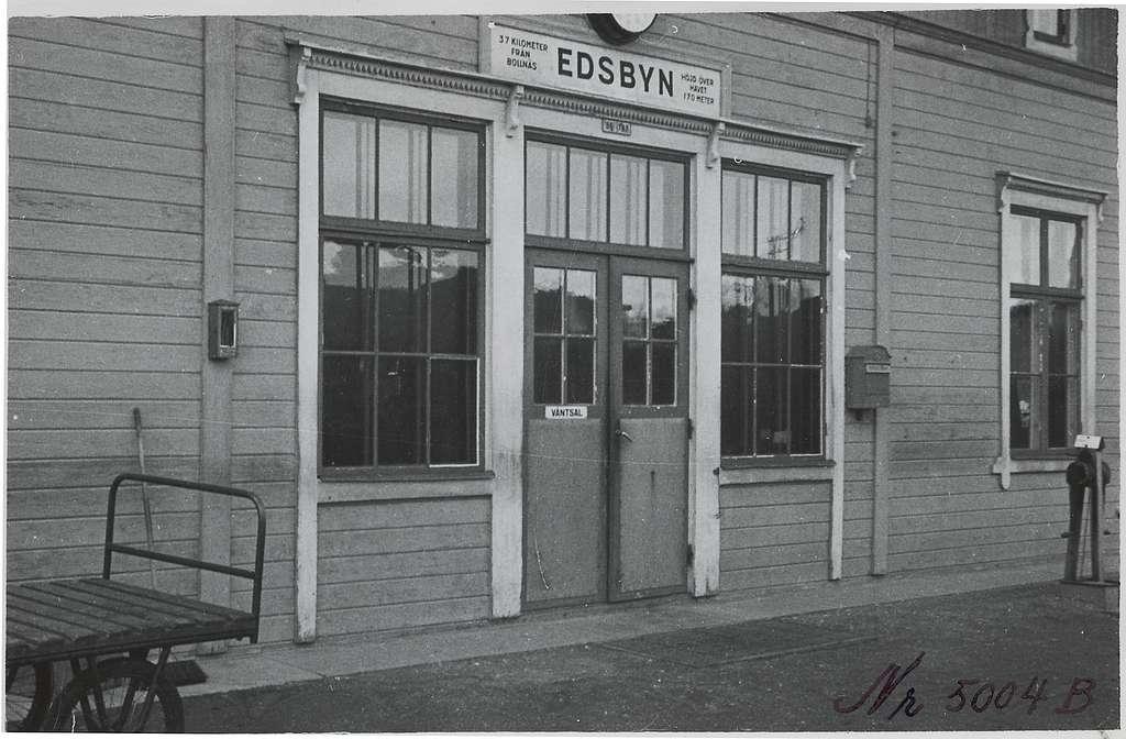 Edsbyn stationshus.