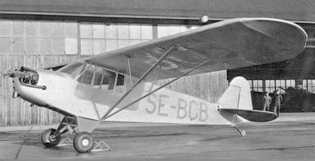 F6 Karlsborg. 1940-tal. Piper Club