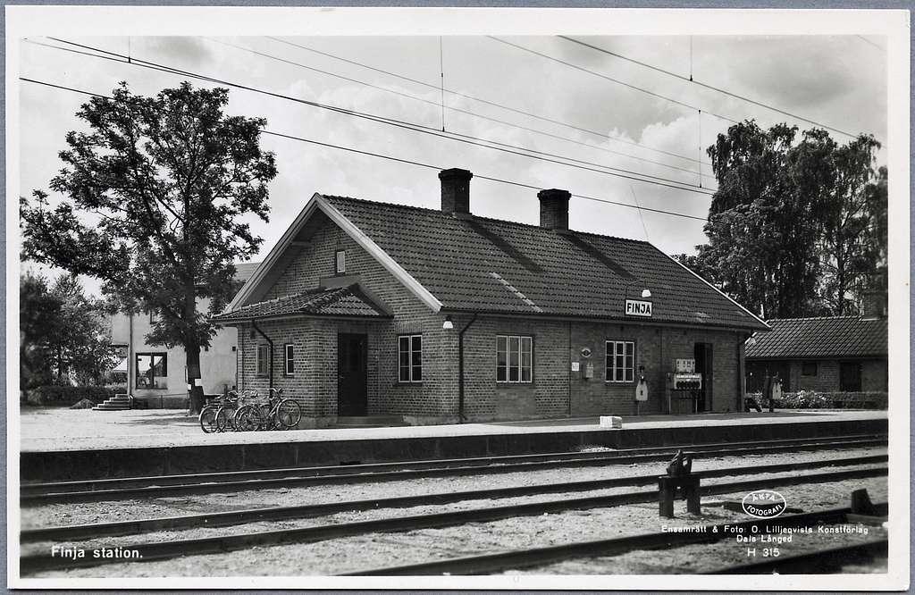 Finja station.