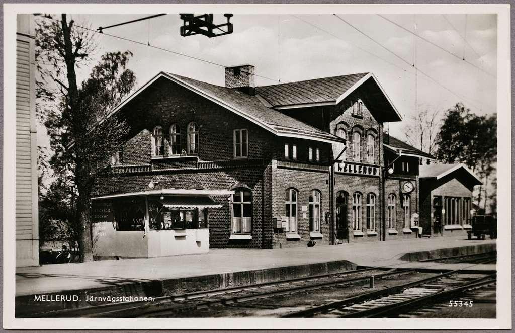 Stationen i Mellerud.