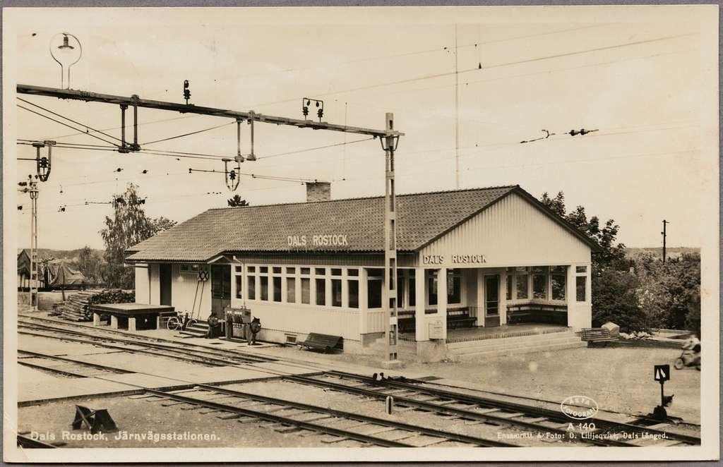 Dals Rostock station.