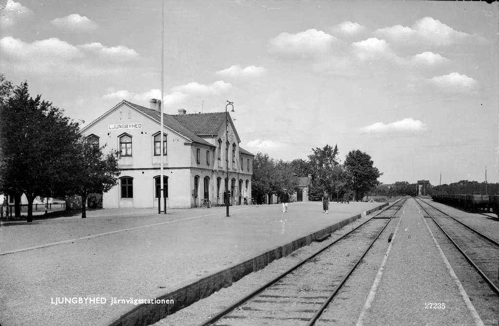 Ljungbyhed station.