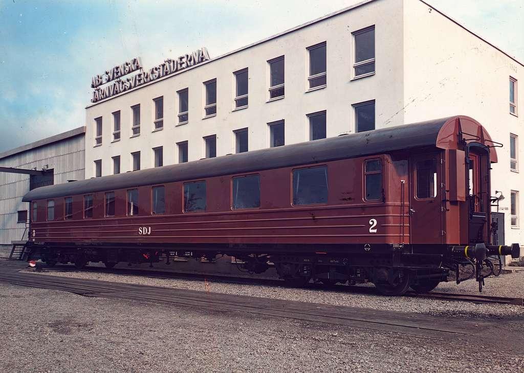 Personvagn tillhärande Södra Dalarnes Järnväg, SDJ BC07cm 107.