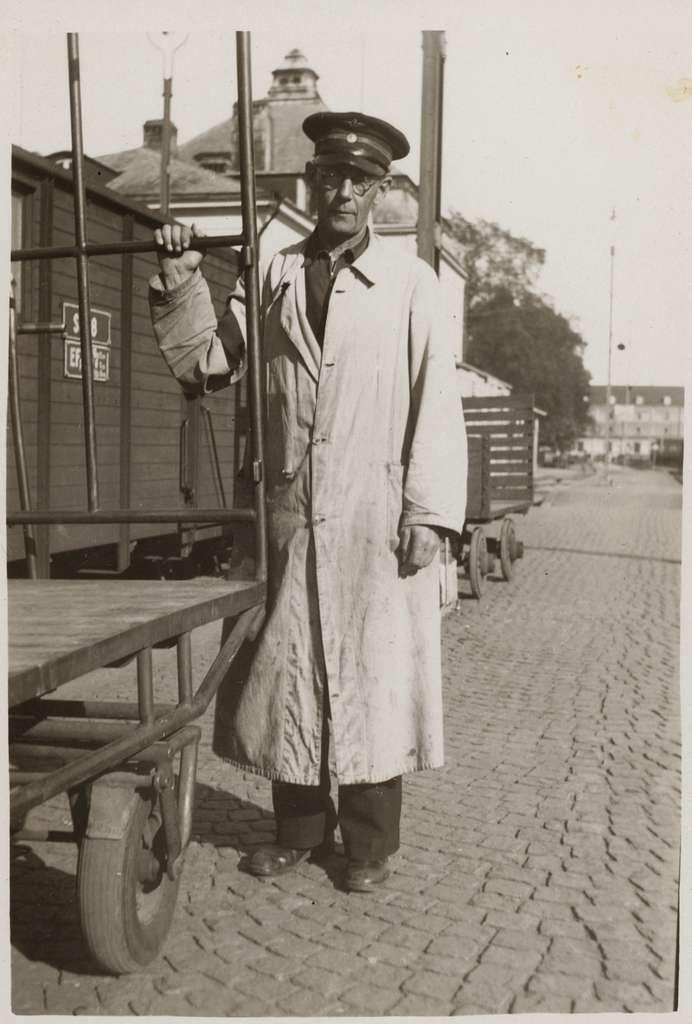 Sven Johanson, Kalmar Central.