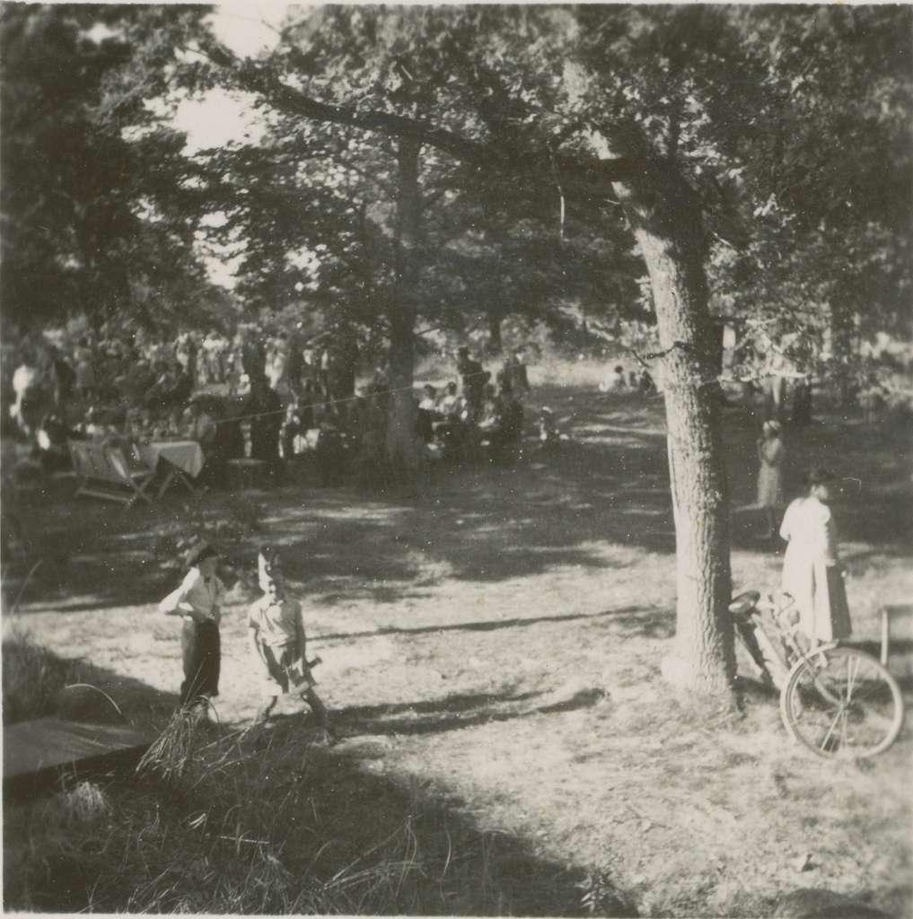 Bergkvara hembygdsgille.Hembygdsfest 1947