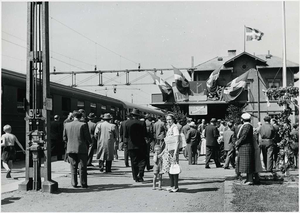 Vänersborg station.