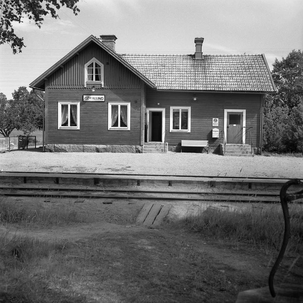 Gökalund station.