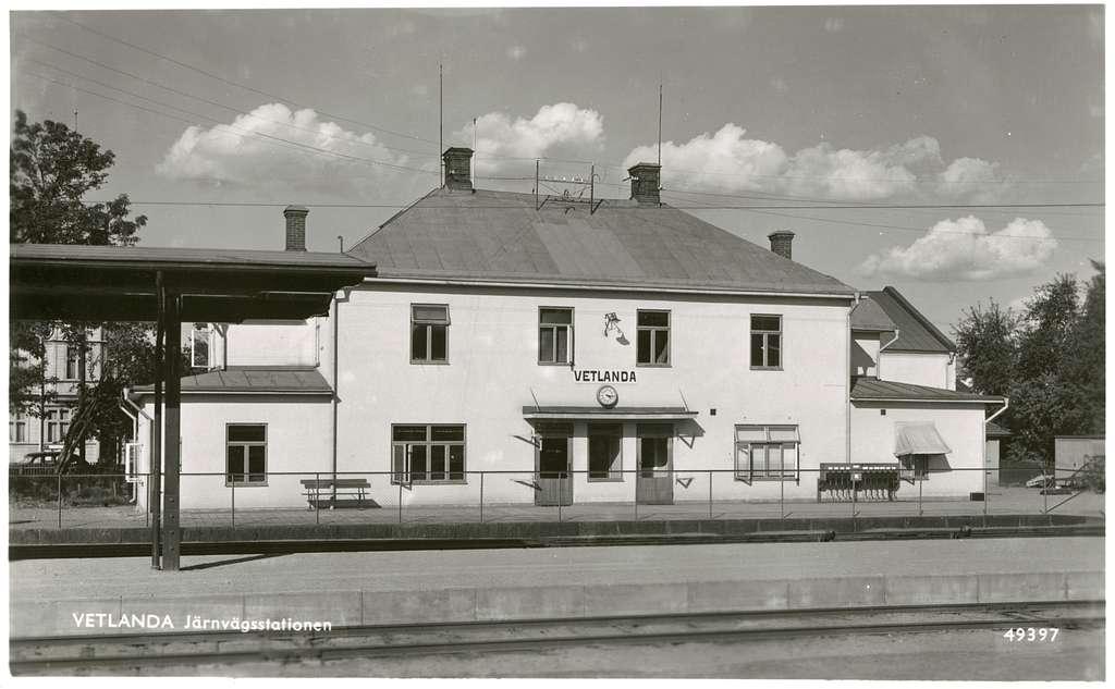 Vetlanda Sävsjö Järnväg, HvSJ.