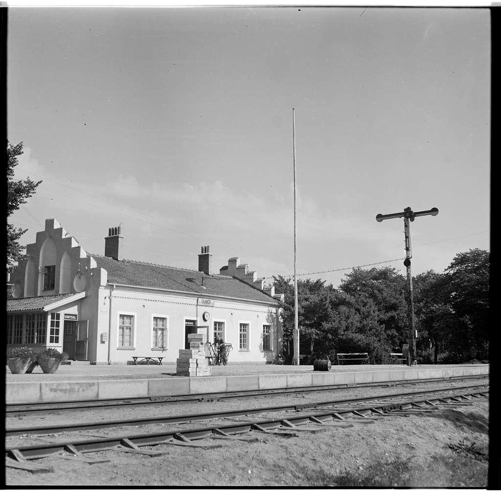 Skanör station.