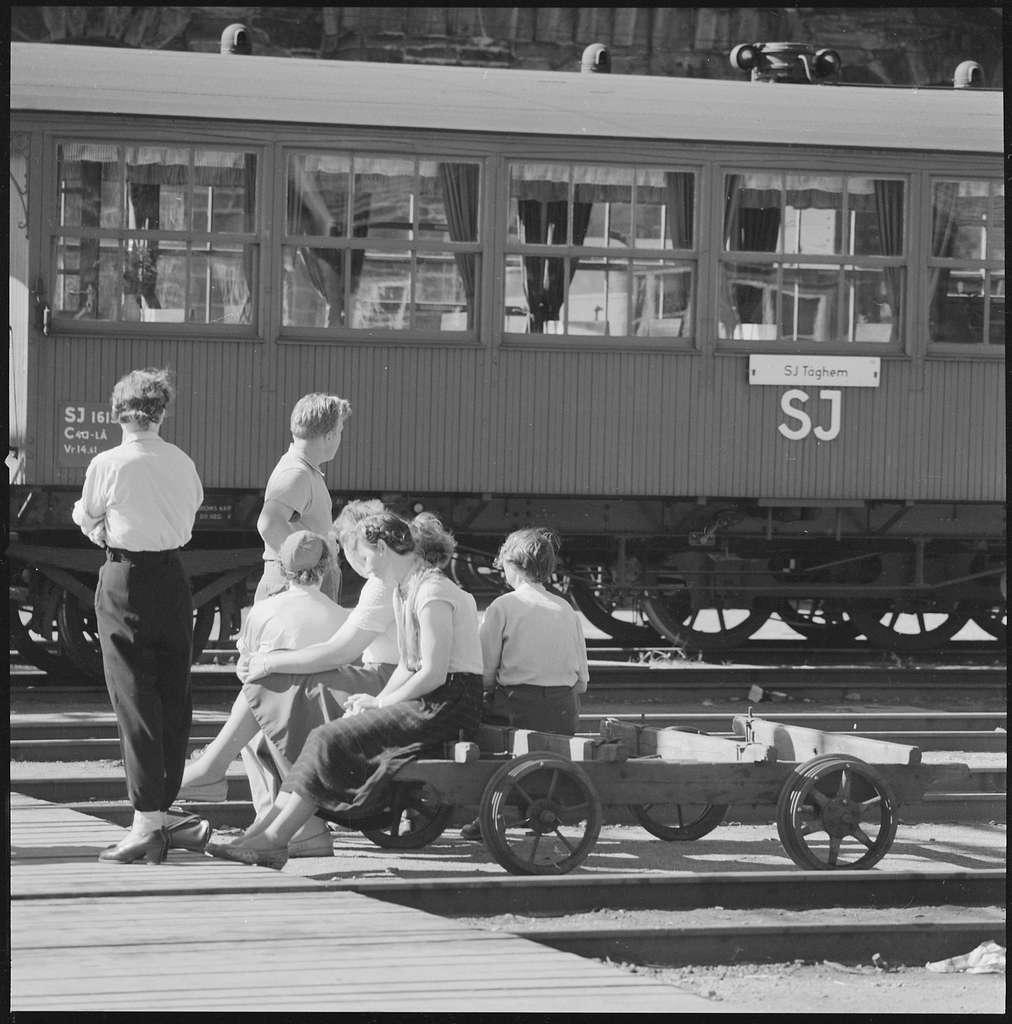 Statens Järnvägar, SJ C4a-LÅ 1615, Tåg-hem.