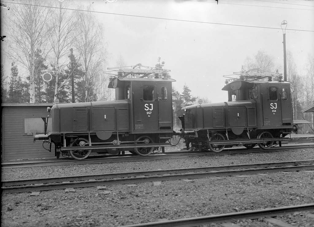 Statens Järnvägar, SJ Za 267 och 268. Vagn & Maskinfabriken ASJ