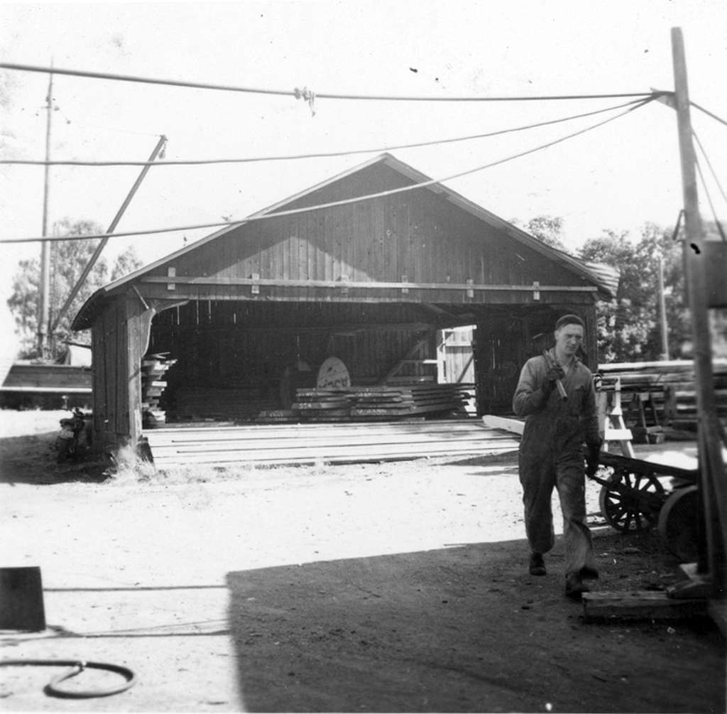 spantlaven, aug 1954