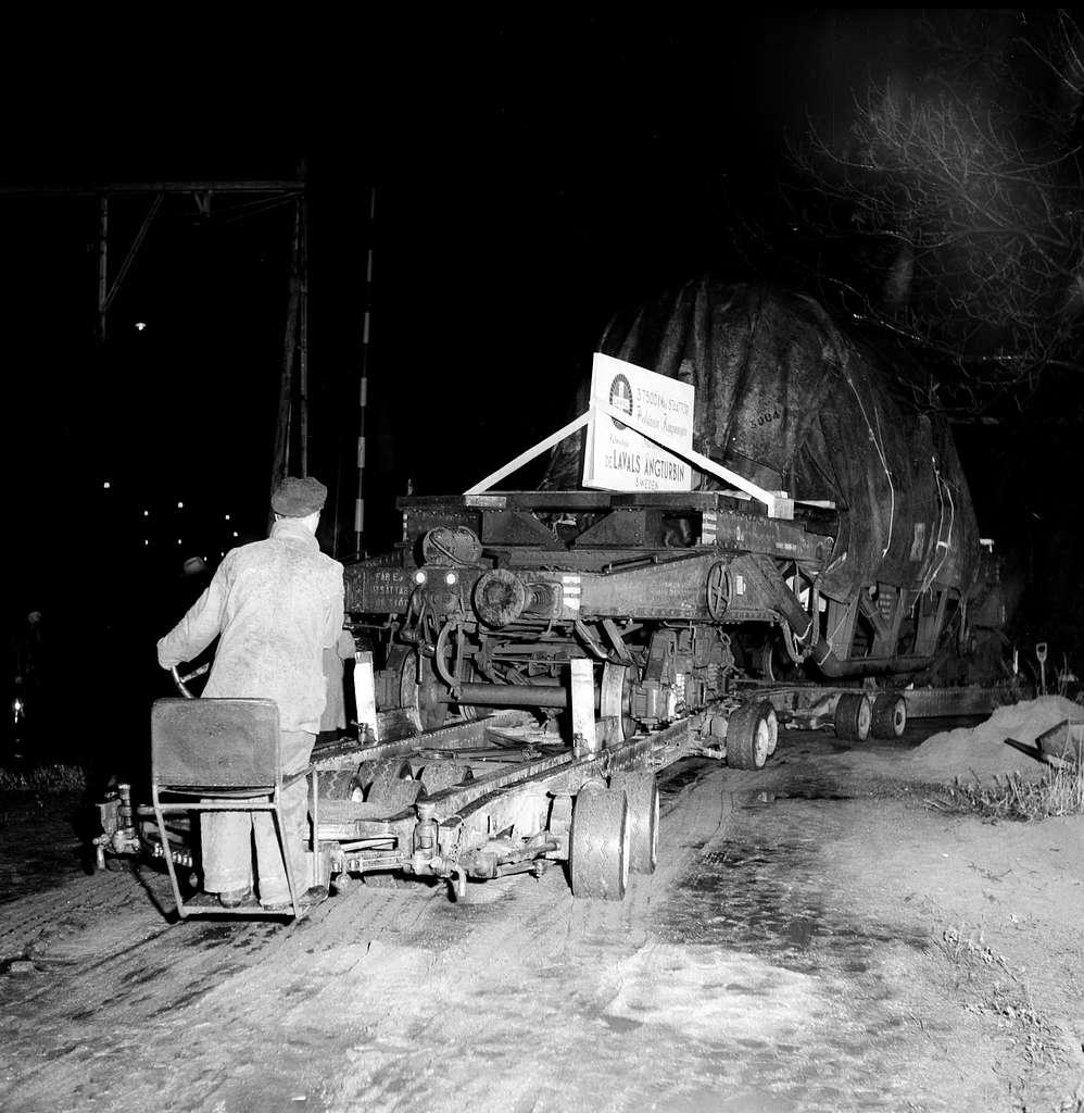 Turbintransport med vagnbjörn, Henriksdal - Hammarby.