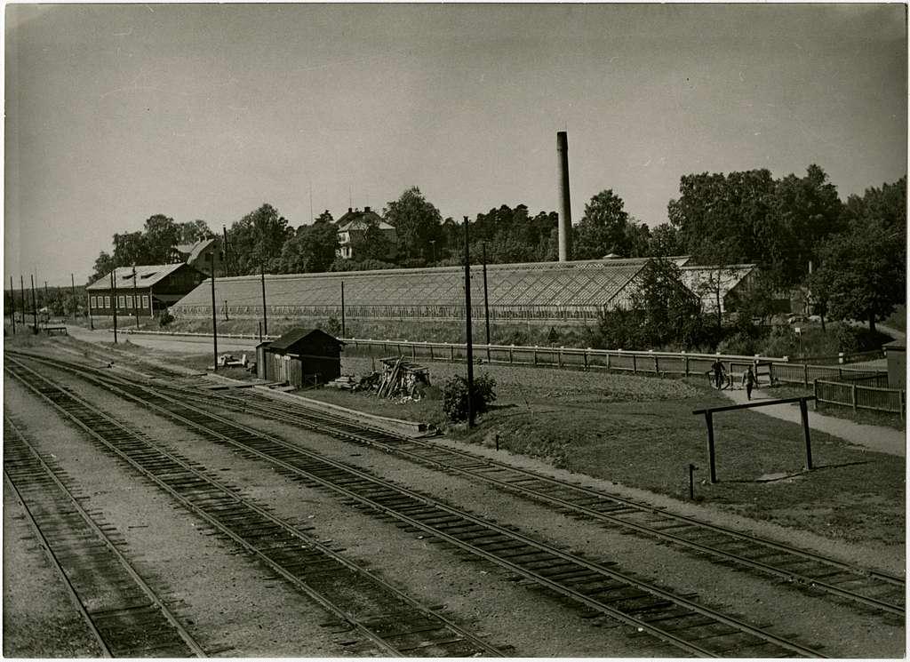 Spånga - Lövsta Järnväg, SLJ  Från Hässelby  Viadukten