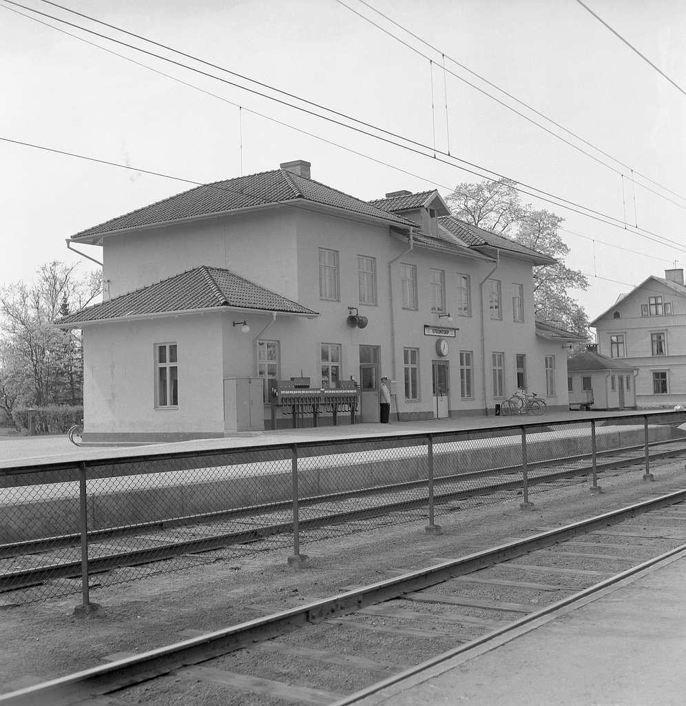 Stationen togs i bruk 1873