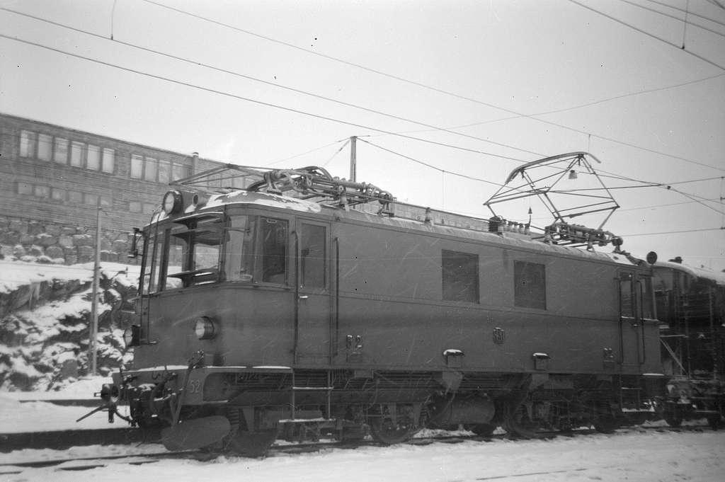 Stockholm Roslagens Järnvägar, SRJ 52.