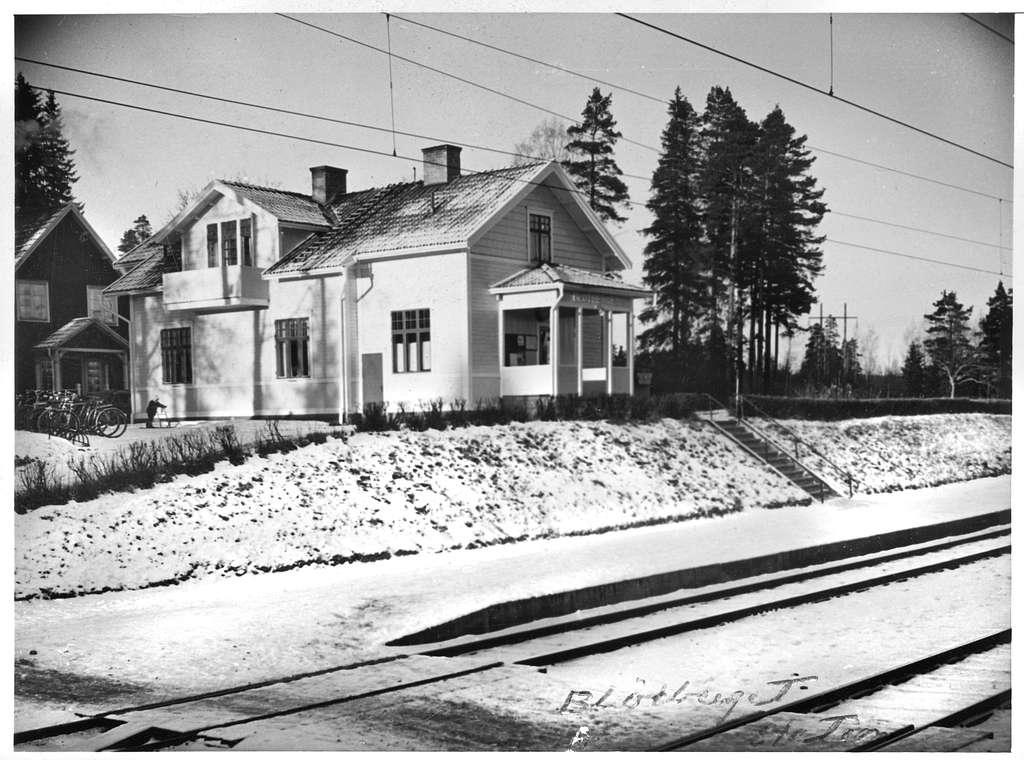 Blötbergets stationshus.