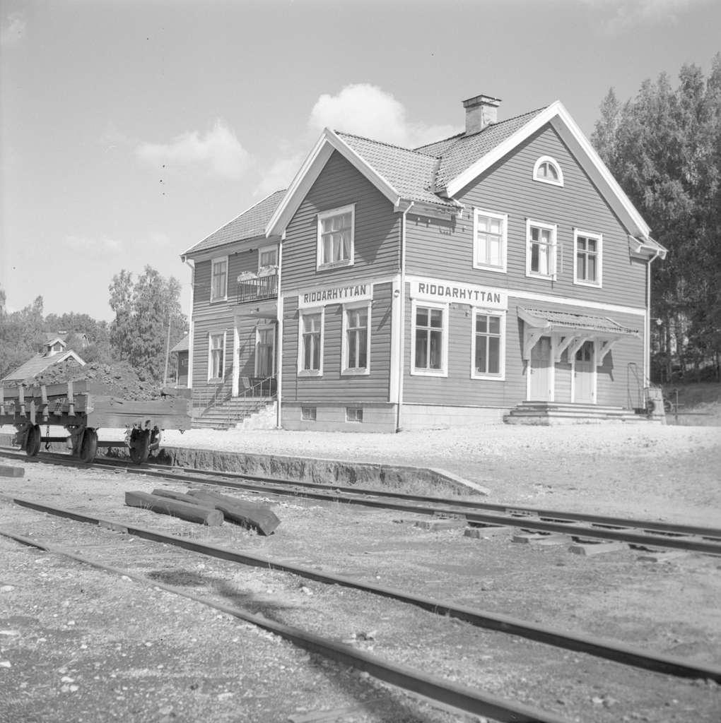 Riddarhyttan station