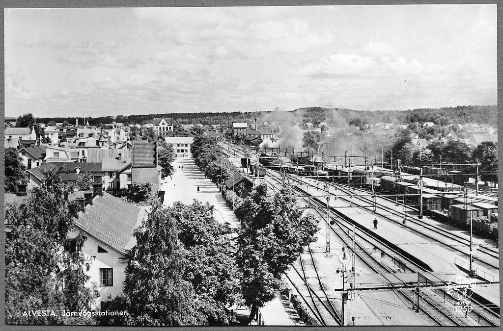 Alvesta station.