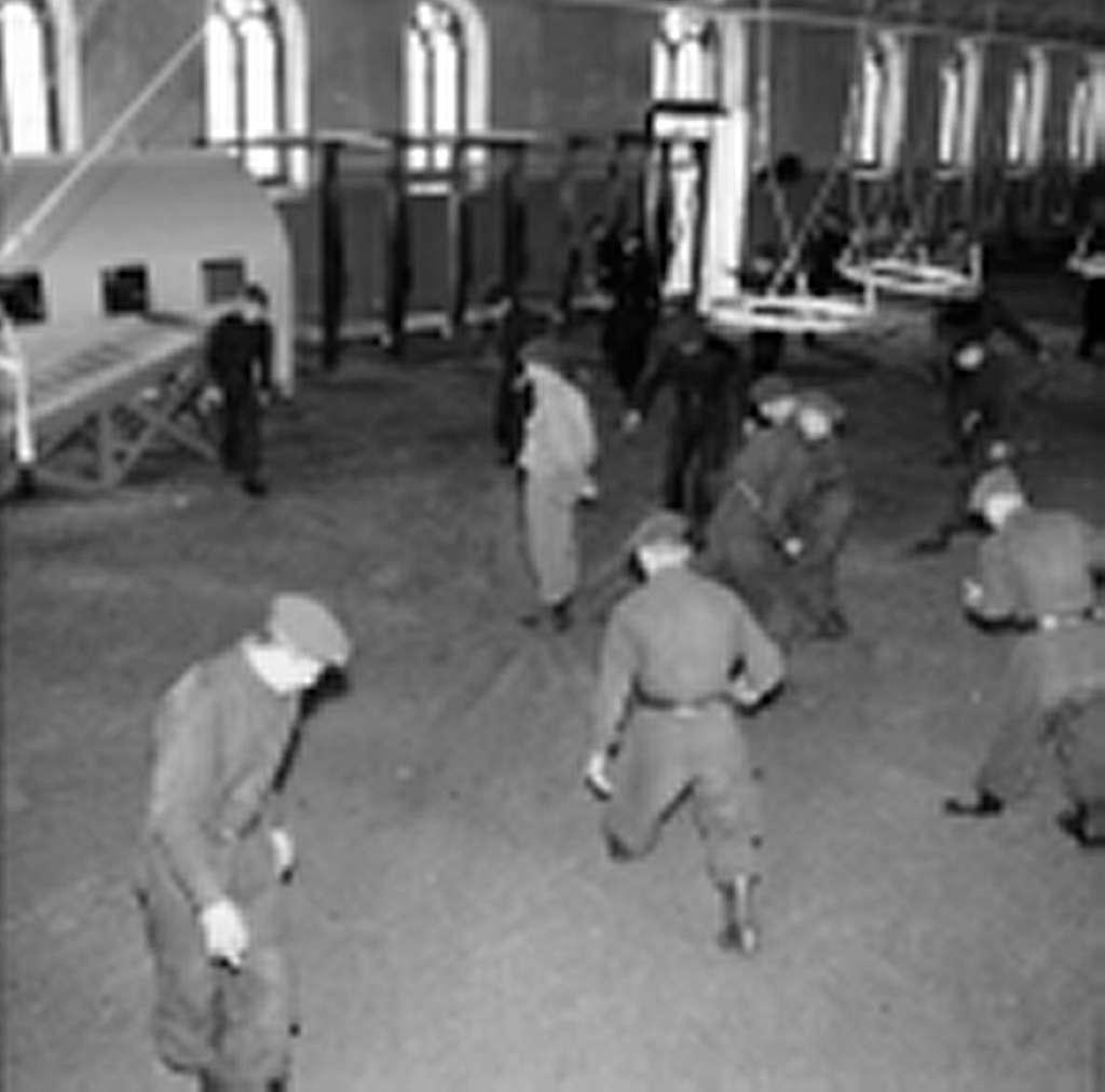 Fallskärmsjägarskolan i Karlsborg  1960.