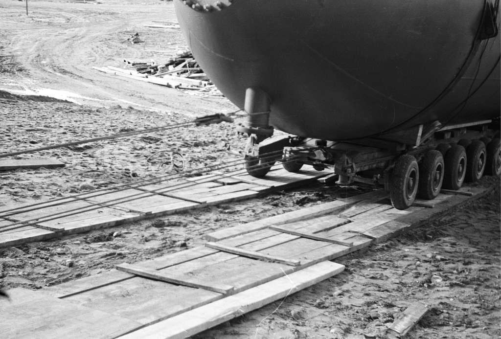 Cisterntransport med vagnbjörn