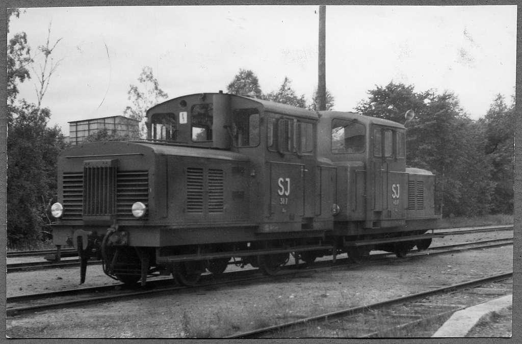 Statens Järnvägar, SJ Z4tu 317, SJ Z4tu 407.