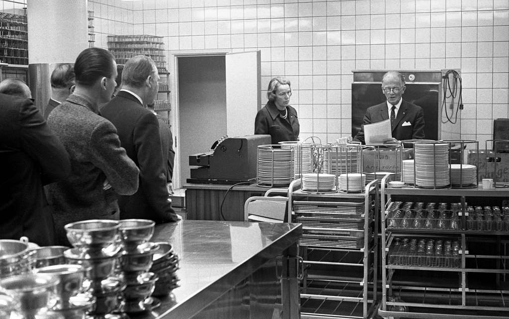 Konsum festvåning 6 mars 1965.