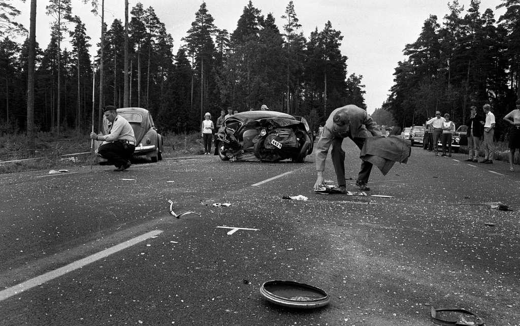 Dödsolycka Mosås 25 juli 1966