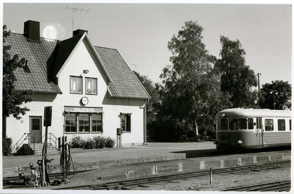 Stationen.Motorvagn YC05p.