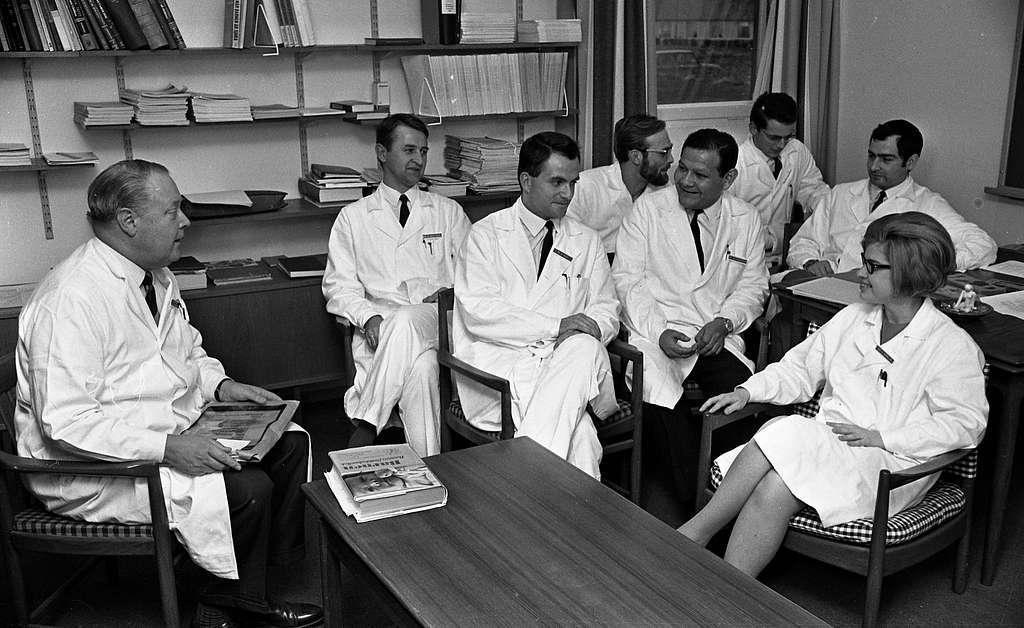 Brasilianska läkare, Alf Bergdahl 30 oktober 1967