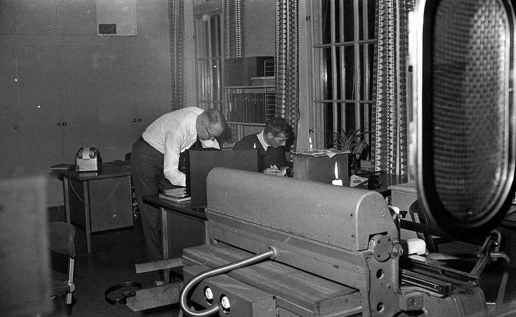 Julklappstips, KDS, Centralen utan ström 22 dec 1967