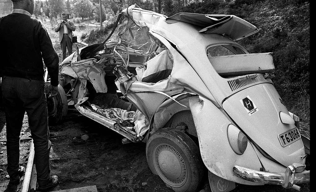 Tågolycka Klacka-Lerberg 9 september 1967