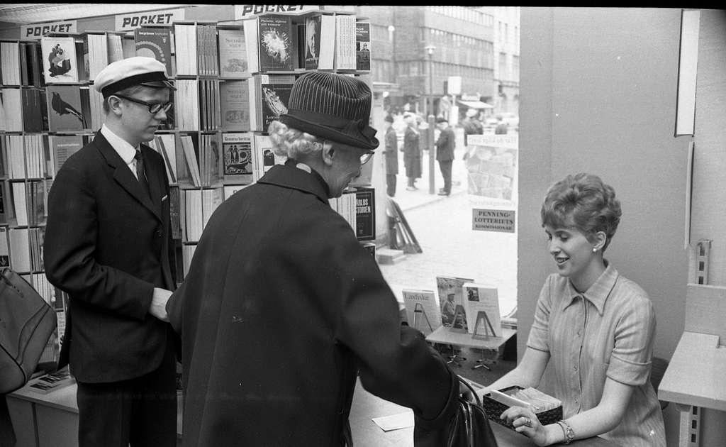 Orubricerade 16 maj 1968 Lindhska bokhandeln