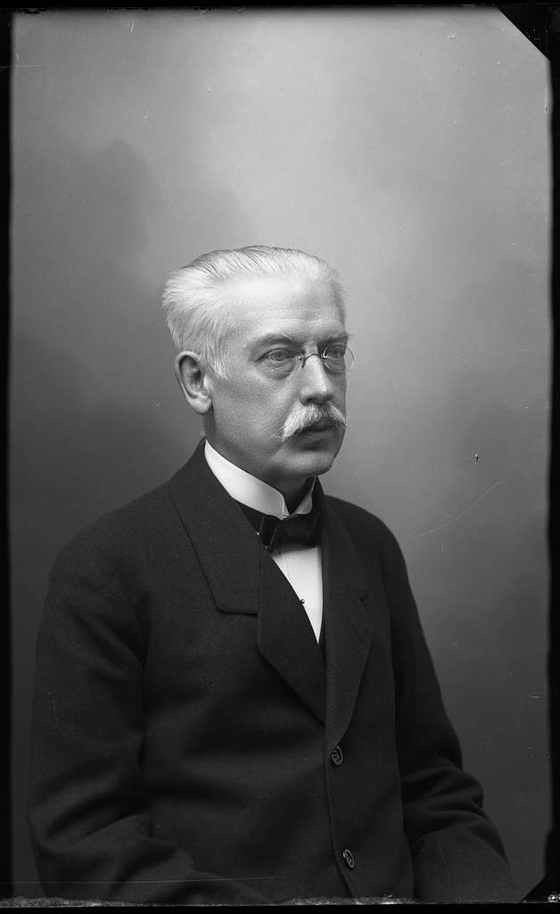 Bokhandlare Albin Sjöberg