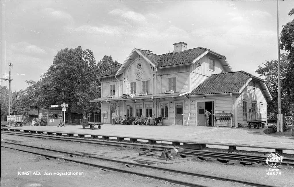 Kimstad station.