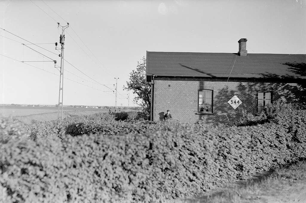 Olycksplatsen vid Vemmerlöv, taget åt polisen september 1941, 15534.