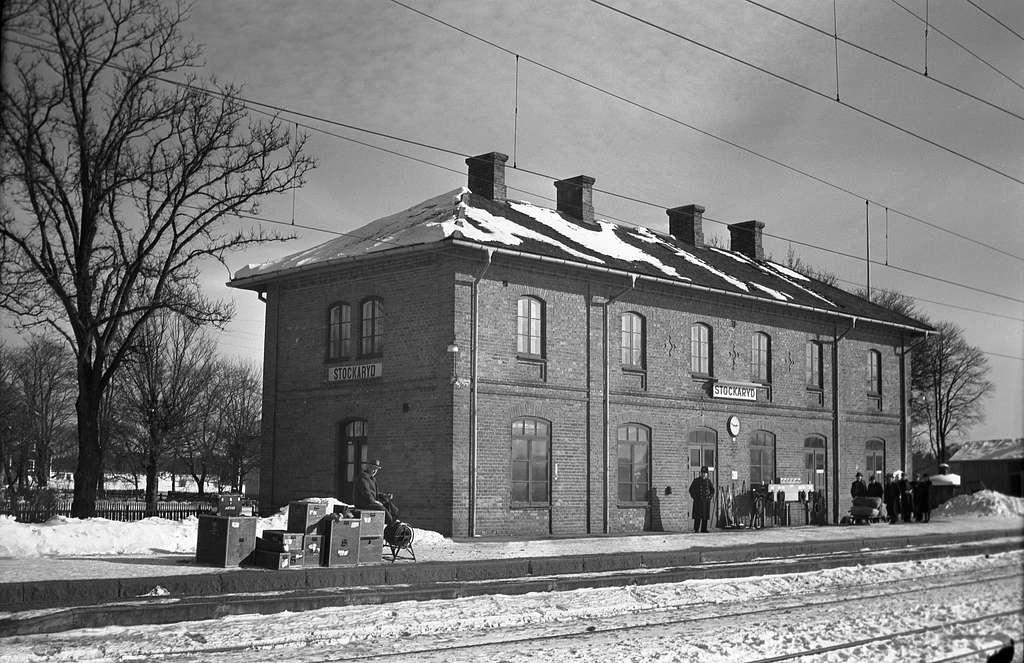 Stockaryds järnvägsstation