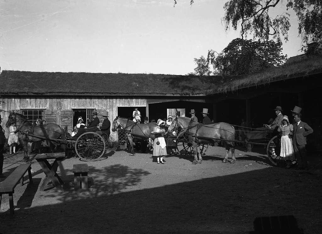 Bildsvit från Vermlandsutställningen år 1929 i Klara. Utställningsområdet sträckte sig från Våxnäsparken och bortåt nuvarande NWT-huset.